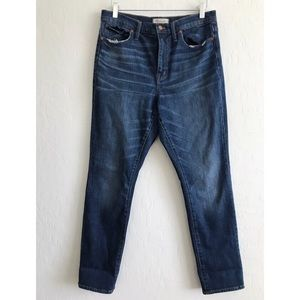 Madewell The High-Rise Slim Boy Jeans